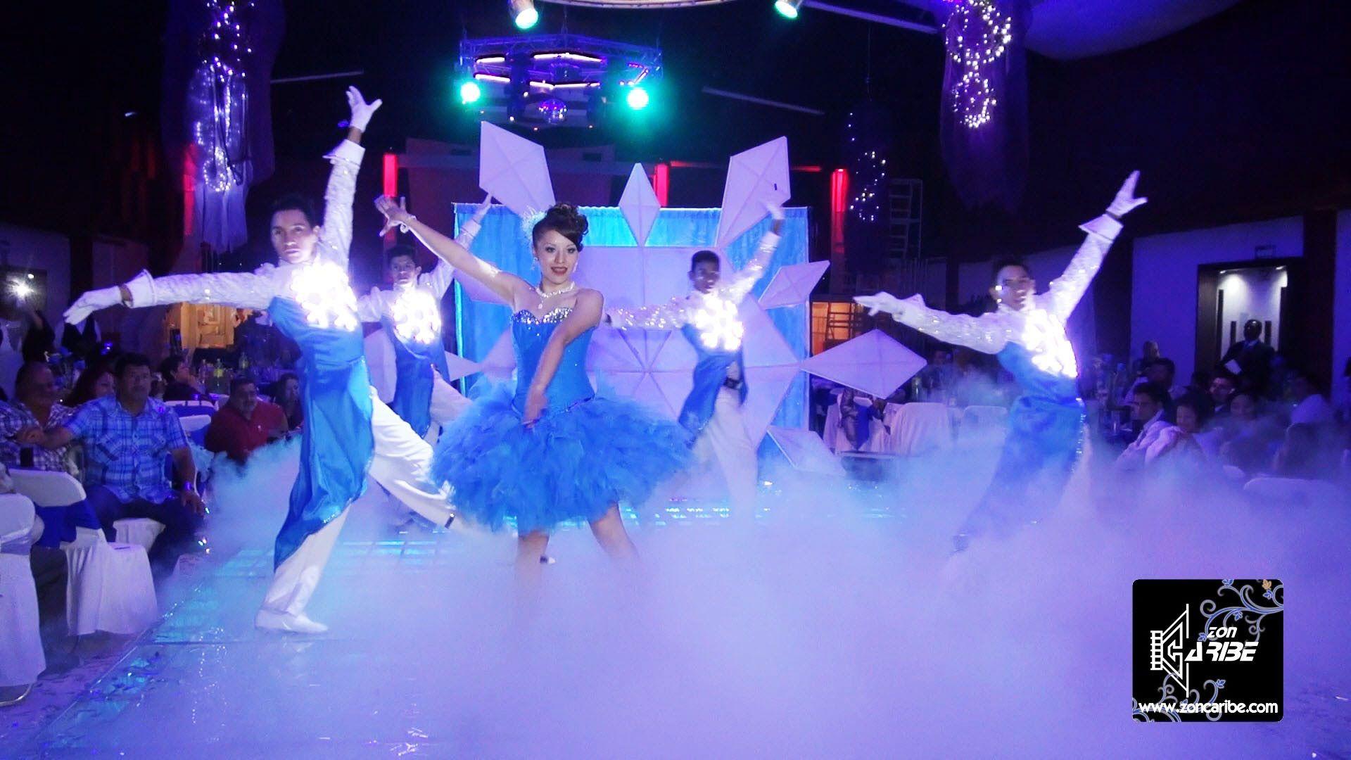 XV Años Lupita Vals Moderno Frozen Academias de Baile Perfiles Foto ...