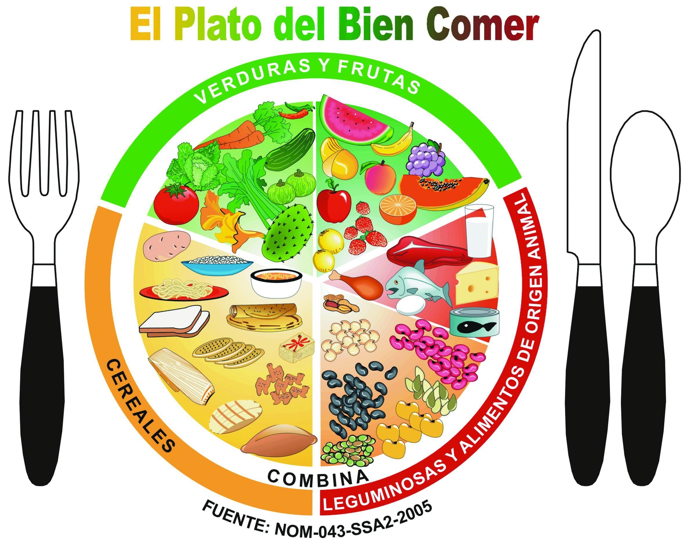El Plato Del Bien Comer Consejosnutriciosspot