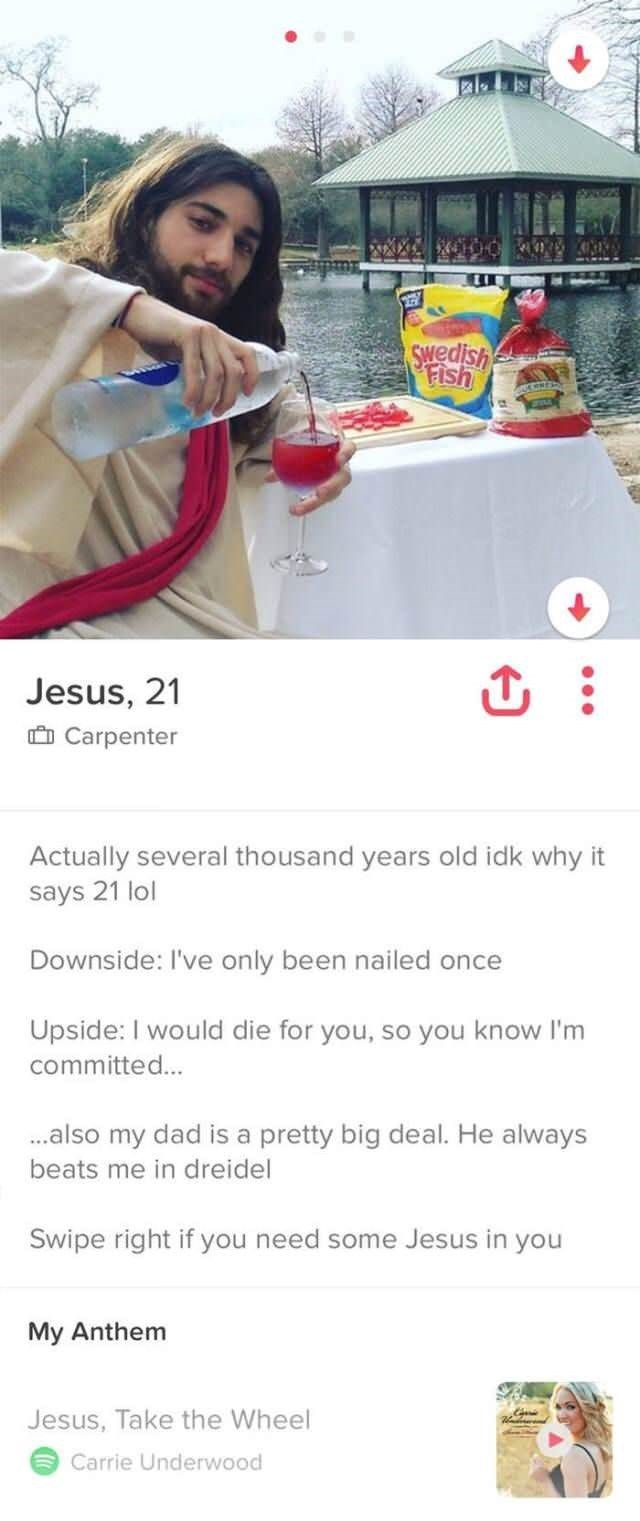 20 Tinder Bios That Will Make You Swipe Right Instantly Top5 Funny Tinder Profiles Tinder Humor Tinder Profile