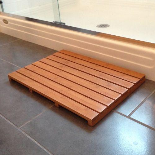 Superieur Bamboo Bath And Sauna Mat .