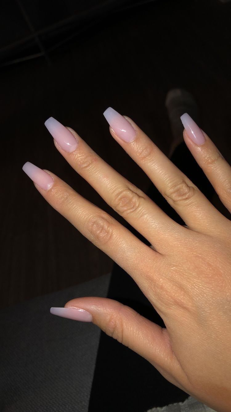 Simple nail color#color #nail #simple