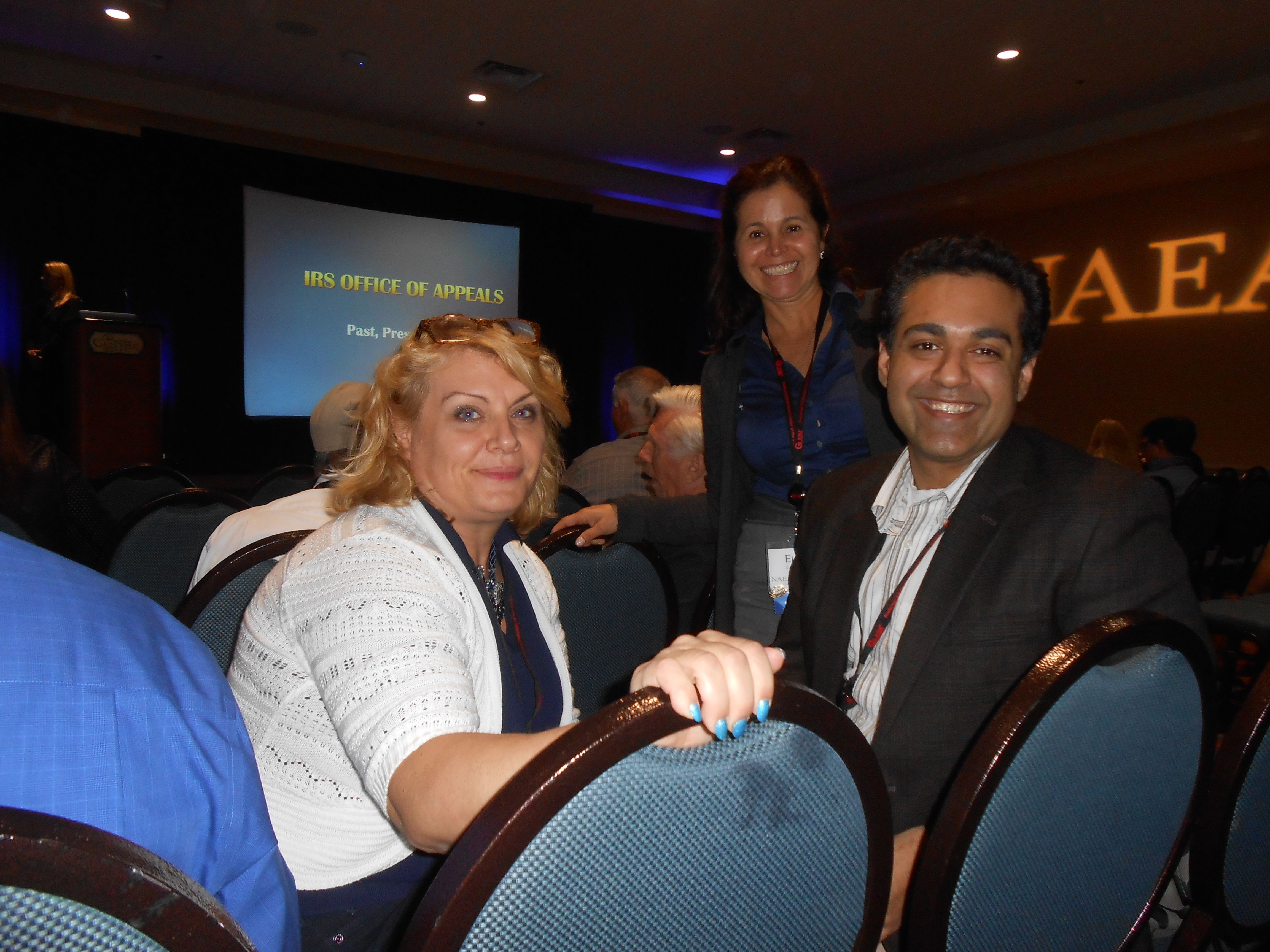 Firm Attends Plenary Session with IRS National Director