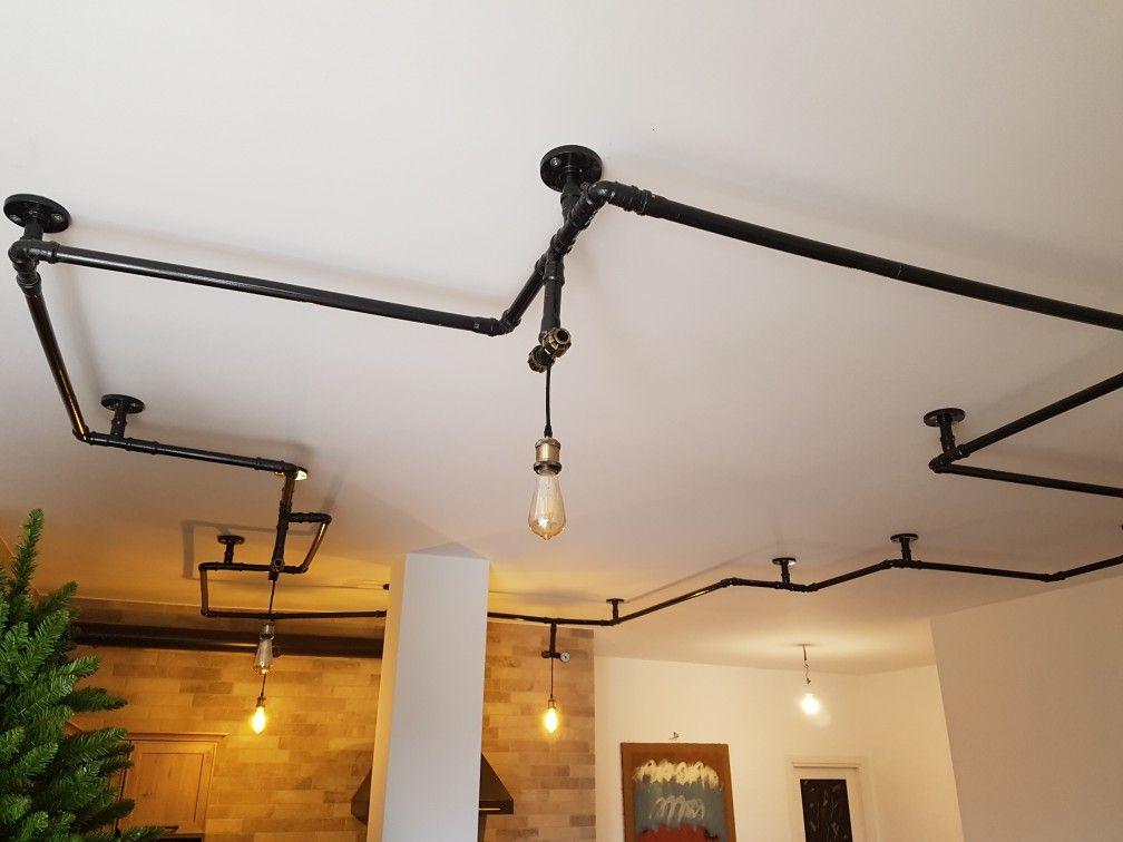 Pin di enzo su lampadario tubi idraulici nel 2019