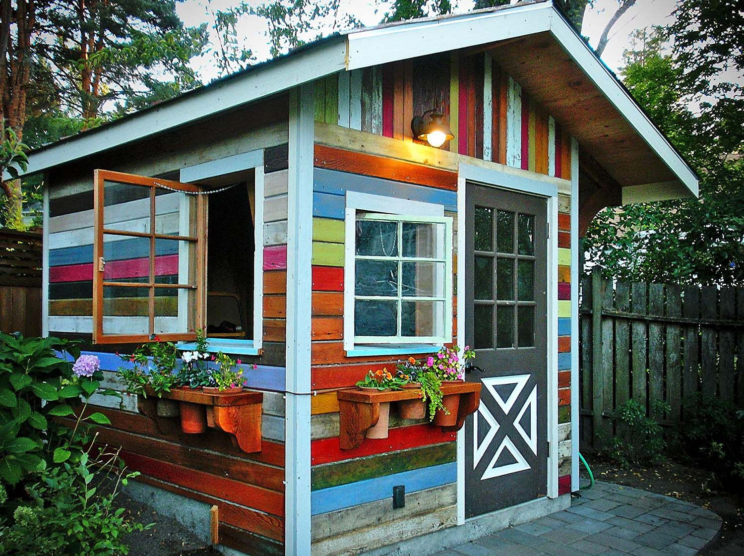 40 Simply amazing garden shed ideas 40