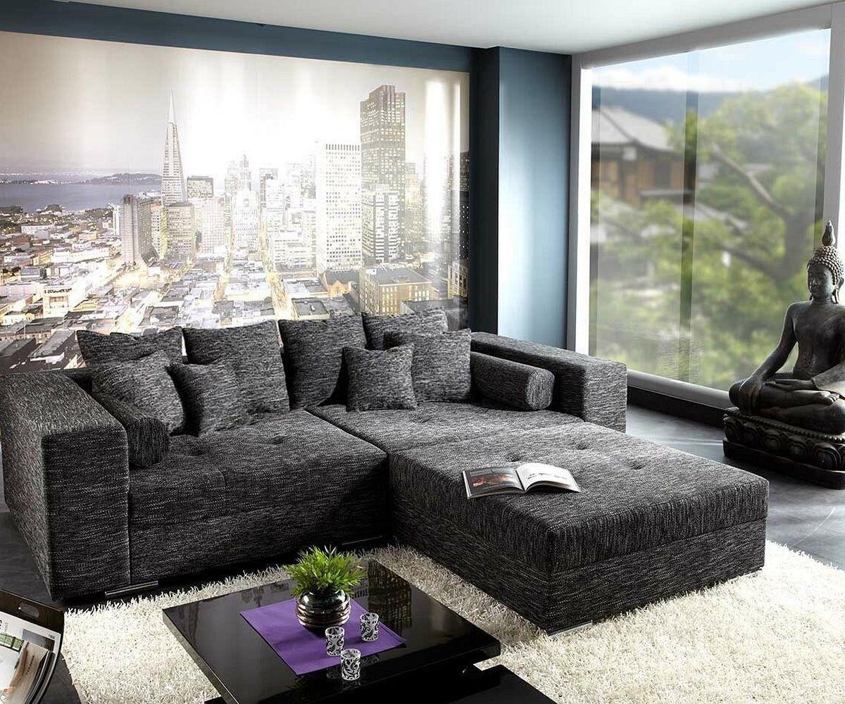 4814 Xxl Sofa Marlen 300x140 Cm Schwarz Big Sofa Mit H 4 Jpg 1 200 1 000 Pixel Sofa Billig Xxl Sofa Gunstige Sofas