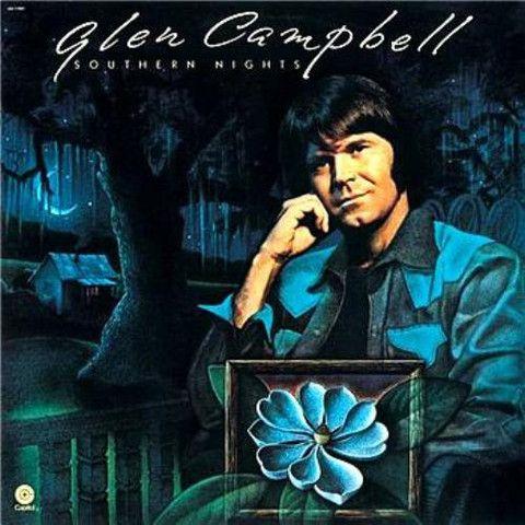 Glen Campbell Southern Nights Vinyl Lp Glen Campbell Southern Nights Glen Campbell Southern Gospel Music