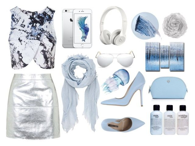 """""""~In the ocean~"""" by skye63190 ❤ liked on Polyvore featuring Topshop, Norma J.Baker, Beats by Dr. Dre, Victoria Beckham, rag & bone, Essie, Sisley - Paris, philosophy and Tory Burch"""