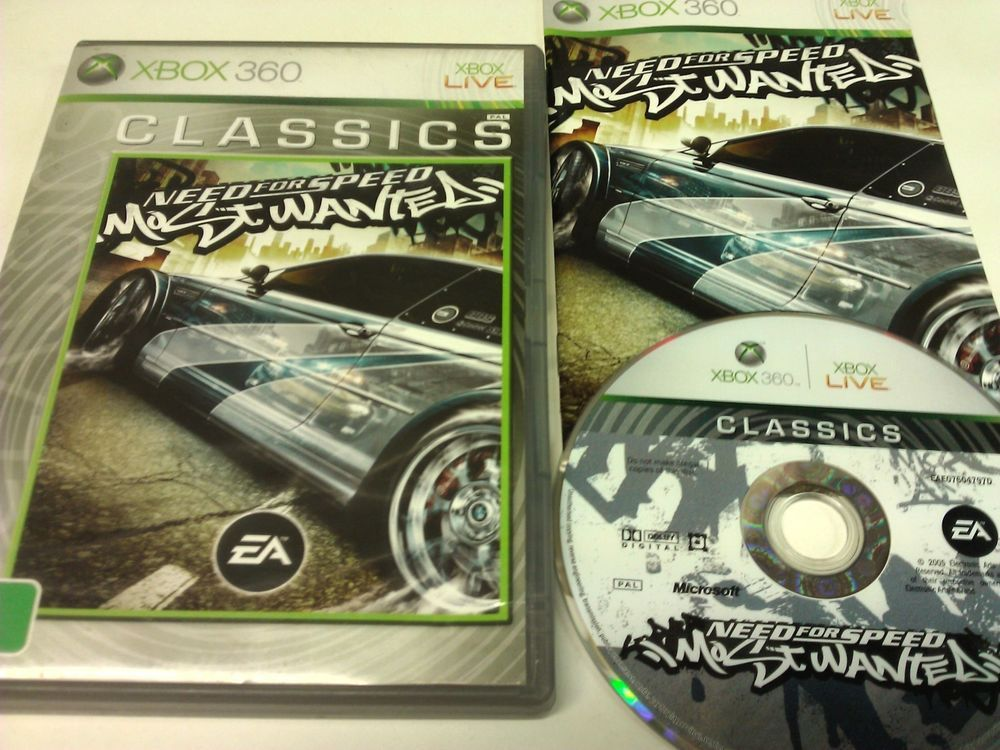Need For Speed Most Wanted 2005 Edition Xbox 360 Need For Speed Xbox Xbox 360