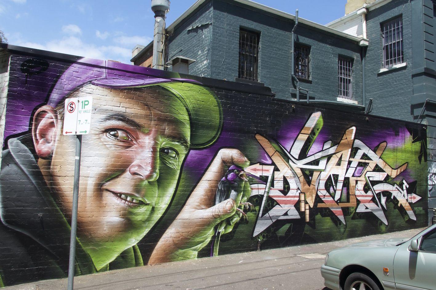 Преобразовать фото в граффити
