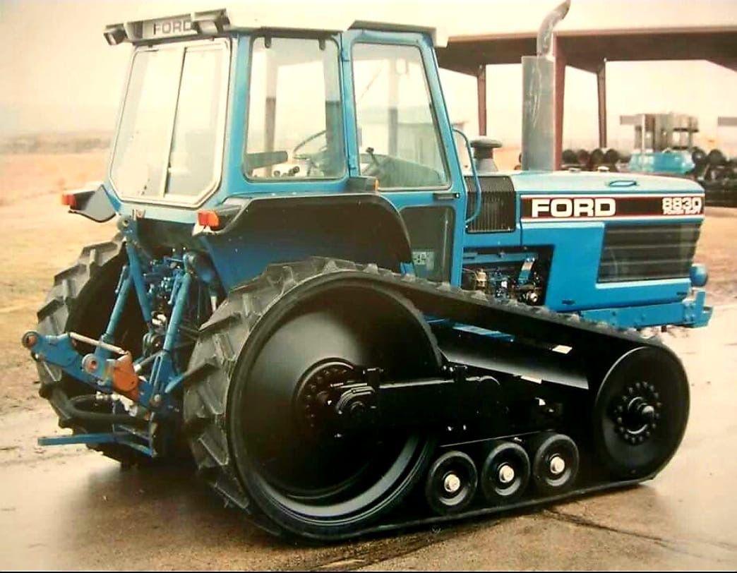 Challenger Row Crop Tractor Prototype Ford Tractors Tractors