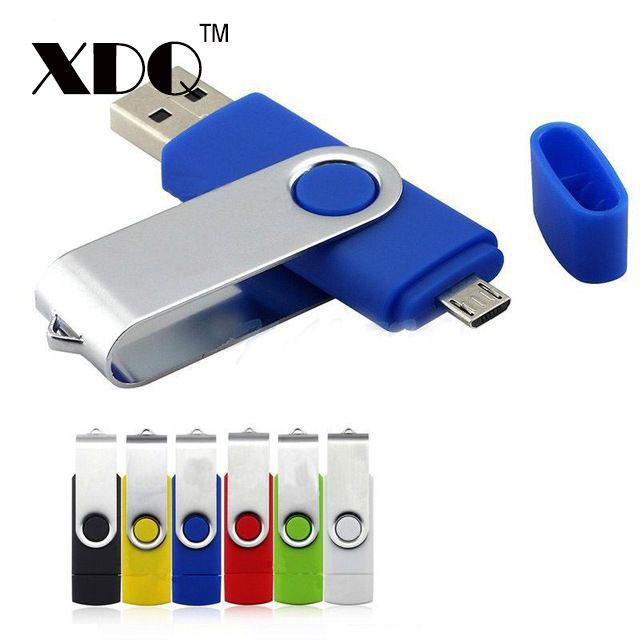 OTG USB 2.0 Micro Flash Pen Drive Thumb Drive Memory Stick for Android// PC lot