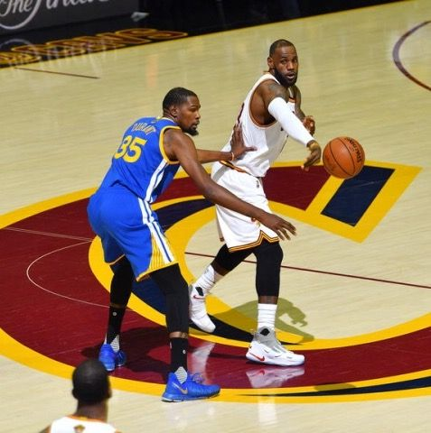 9138697e87e Kevin Durant - Golden State Warriors and Lebron James