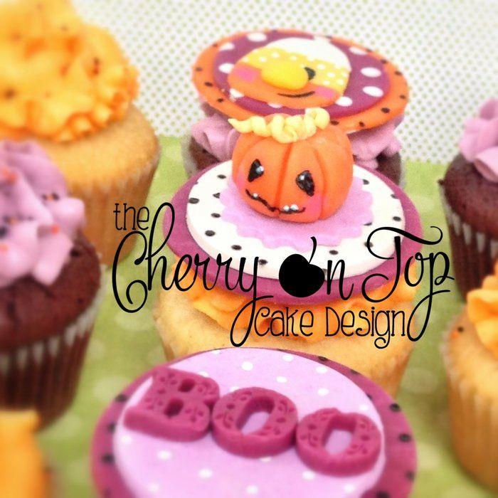 Halloween cupcakes - by thecherryontopcake @ CakesDecor - cake - decorating halloween cakes