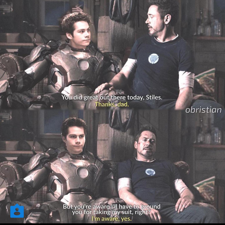 Stiles is Tony Stark's son  AU | Sterek AUs | Teen wolf