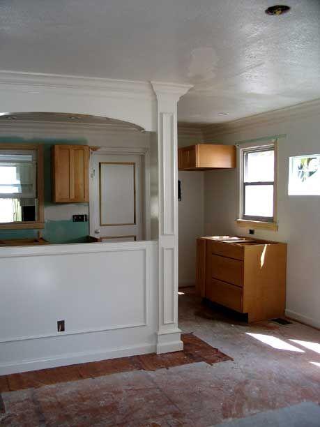 Kitchen pass through google search moser kitchen pinterest kitchens bungalow kitchen for Pass through kitchen ideas