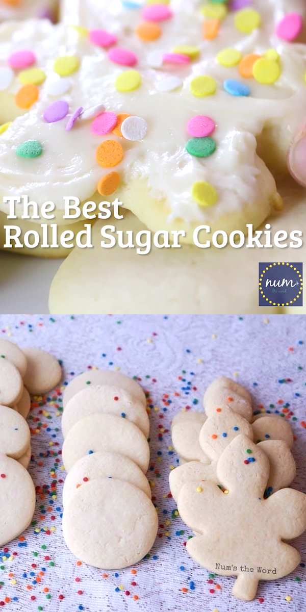 Video These Are The Best Rolled Sugar Cookies And Require No