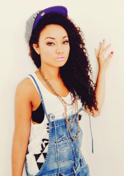 Little Dope girls with swag photos