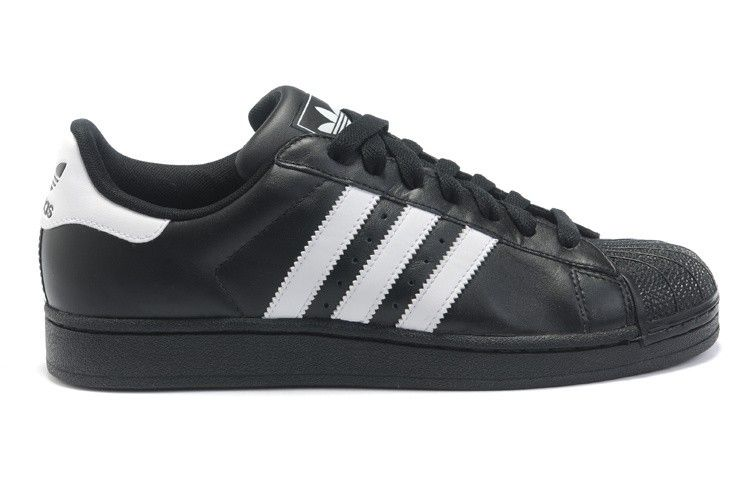 Adidas Superstar II Black White Mens Trainers G17067 Casual Shoes