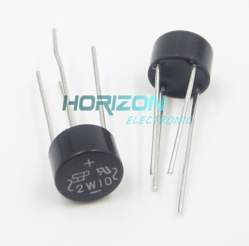 Click to Buy \u003c\u003c 10PCS NEW 2W10 2A Bridge Diode Rectifier high