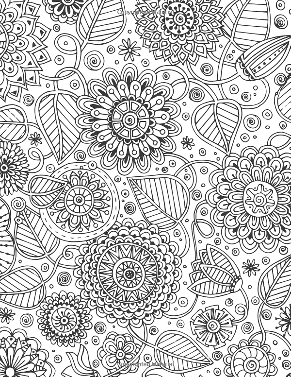 Keep Calm And Color On Stress Relief Coloring Adult Coloring