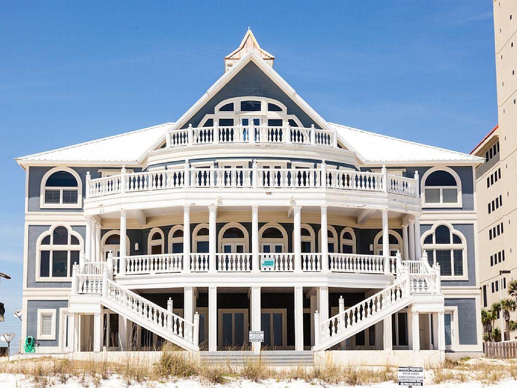 Prime Large Event Friendly Luxury Gulf Front Homeaway Alabama Download Free Architecture Designs Intelgarnamadebymaigaardcom