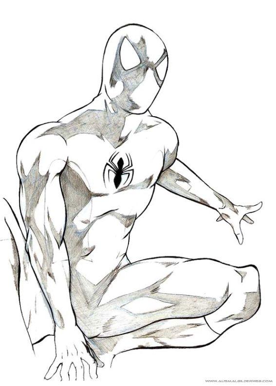 Ausmalbilder Spiderman_3.jpg | spider | Pinterest | Spiderman und ...