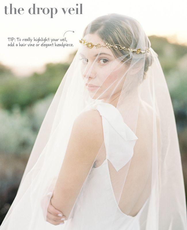 Wedding Hairstyles No Veil: New Wedding Veil Styles Plus Tips To Wearing Them