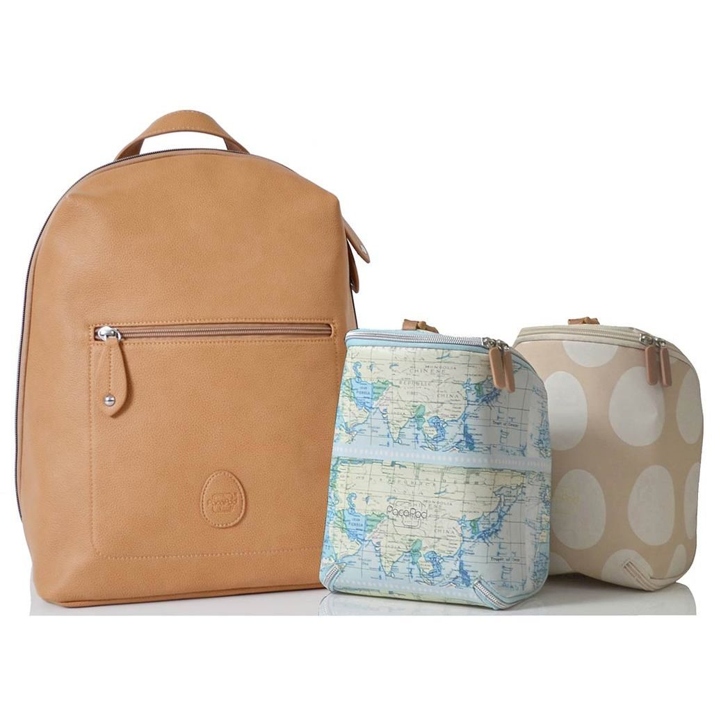 602c970e8287f PacaPod Changing Bag - Hartland - Camel-Changing Bags-Default- Natural Baby  Shower