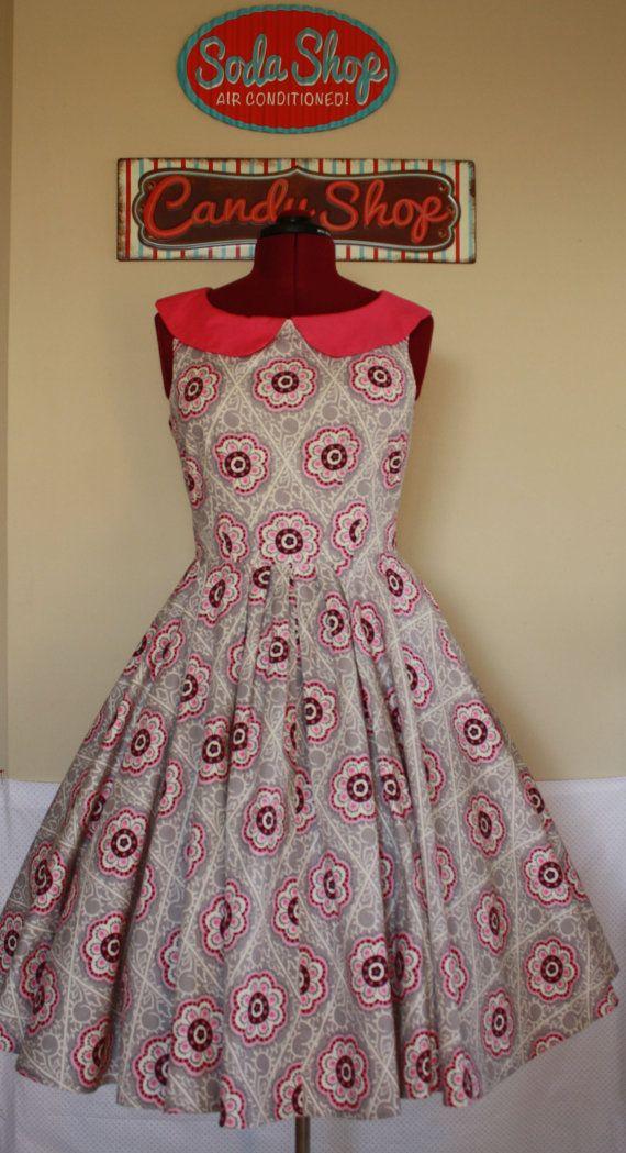 Soft Serve Swing Dress  Custom Made di SodaPopDressShoppe su Etsy