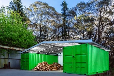 Shipping Container Garage Workshop Nice Design