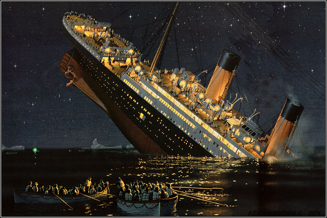 one of my favorite paintings   history   Pinterest   Titanic, RMS ...