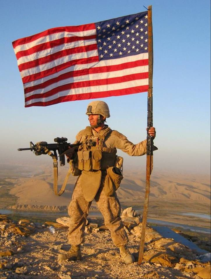 marine wants his message to spread around the world patriotic