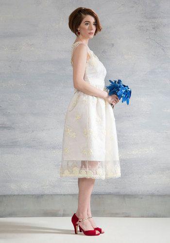 Short Vintage Inspired Wedding Dress 1950s Or 1960s Rapt Up In Love White