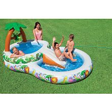 Intex jungle play center kiddie pool miss emma - Toys r us swimming pools for kids ...
