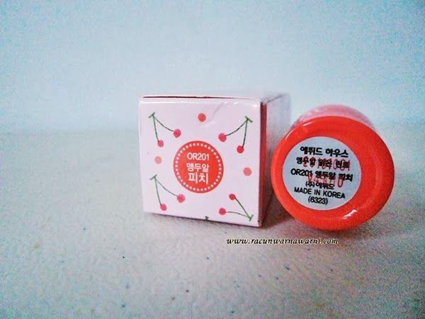 Racun Warna-Warni: Review + Tips: Etude House Fresh Cherry Tint in Cherry Peach