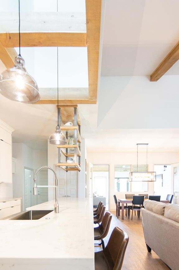 prime example of the contemporary kitchen tons of natural
