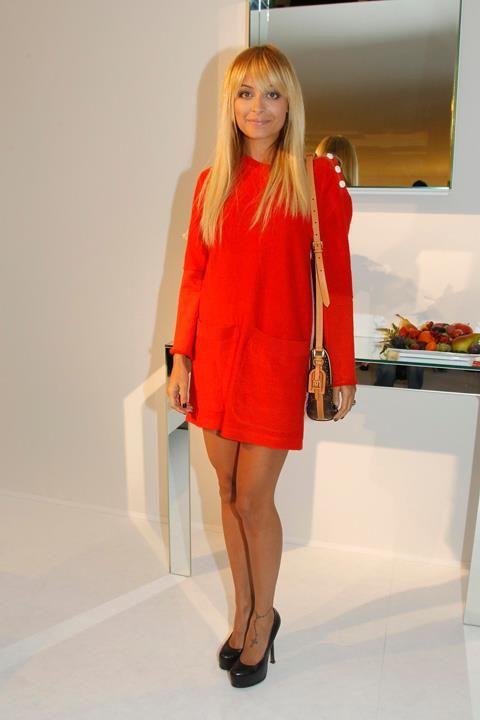 Nicole Richie in Louis Vuitton
