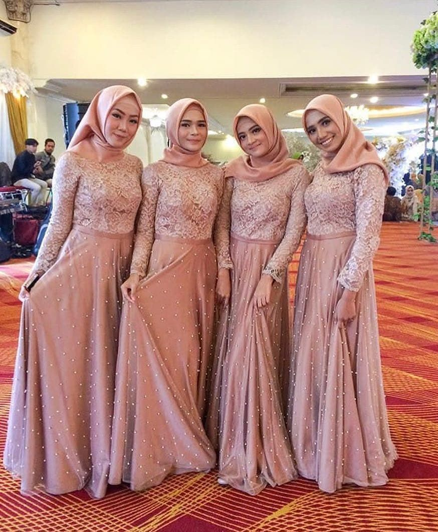"Dress Gaun Bridesmaids Hijab on Instagram: ""Inspired by"
