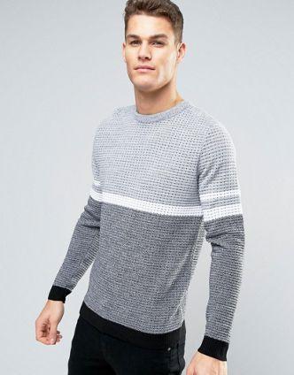 2448720d4fc4 Men's Jumpers & Cardigans | Shop Men's Knitwear | ASOS | Stripes in ...