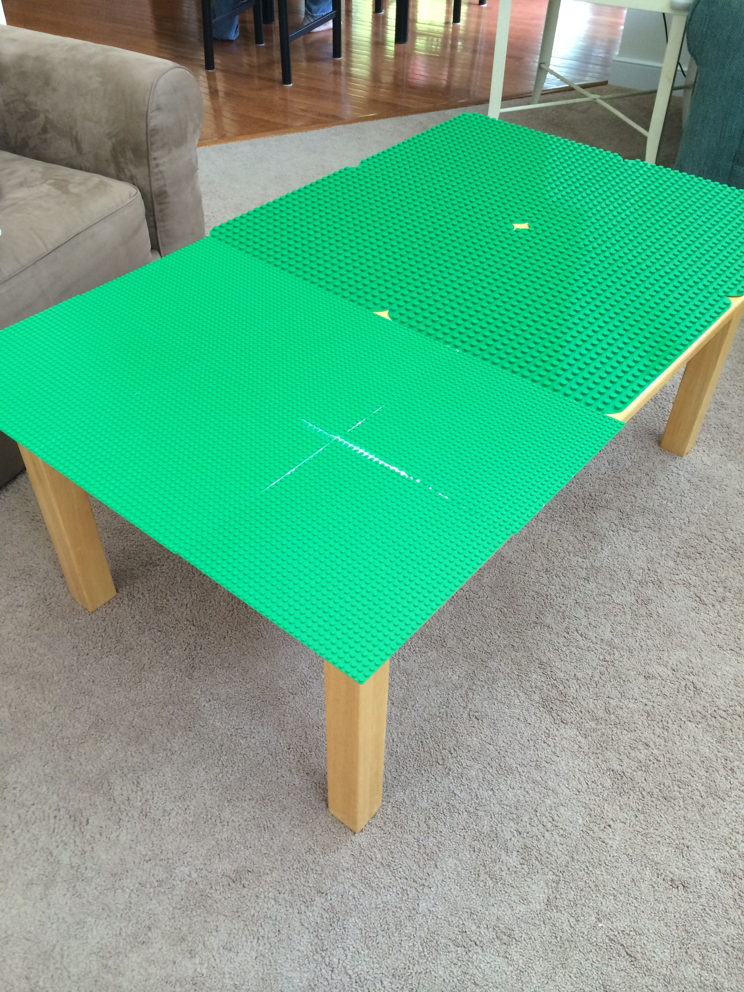 toys r us lego table and chairs modern dining a i made for my daughter 10 from yard