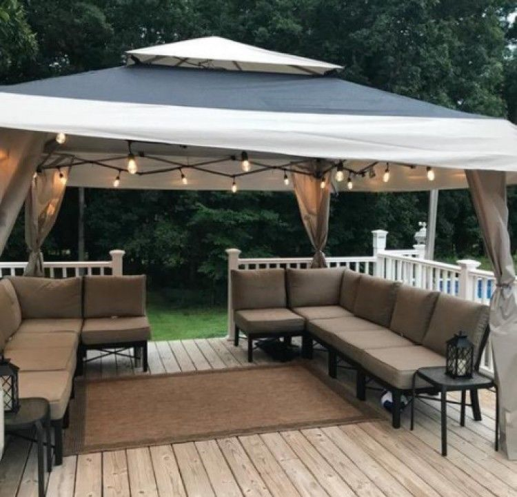 Portable Folding Gazebo Tent Wedding Party Canopy Graduation