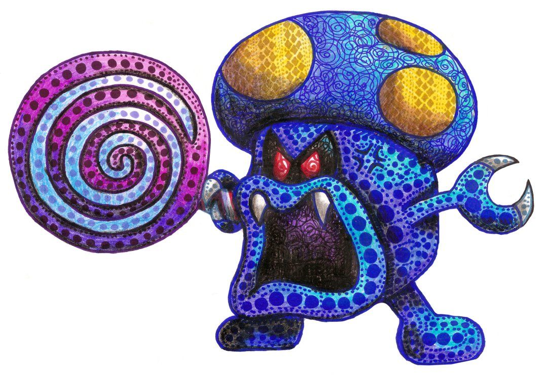 Shrooboid Brat Mario And Luigi Partners In Time By Iguruwashi On