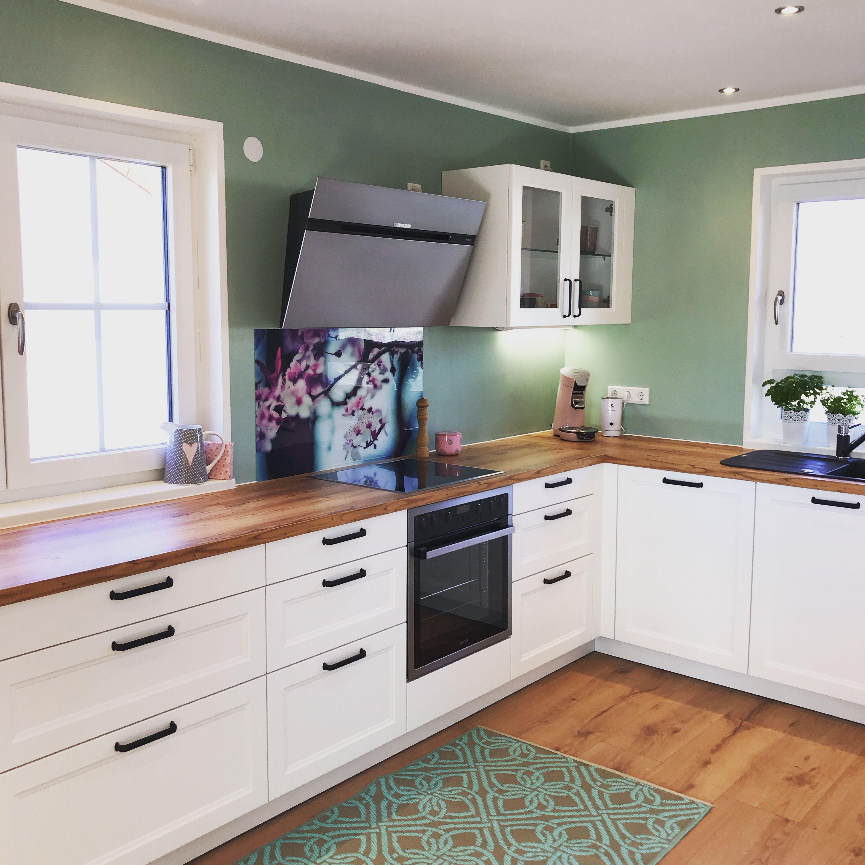 landhausstil küche in 2020 | küche neu streichen, küche