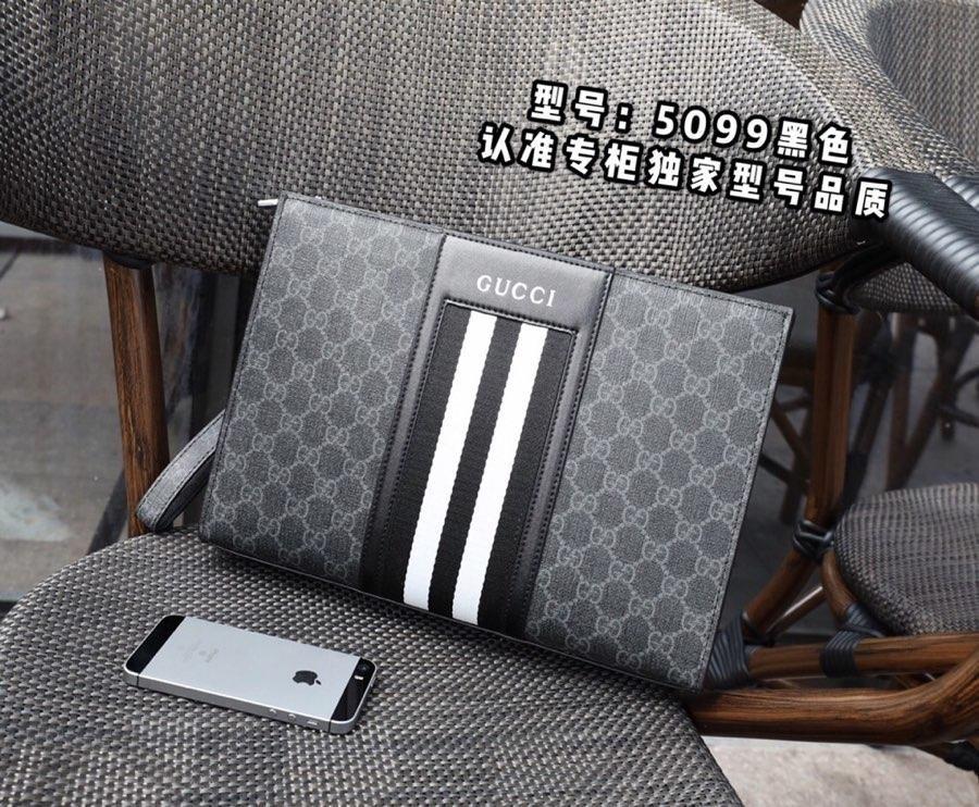 ab0b634057e 구찌 클러치백 레플리카-클러치 가방 남성 브랜드 구찌 - 복사 N 급 제품 A4 블랙 gucci ...