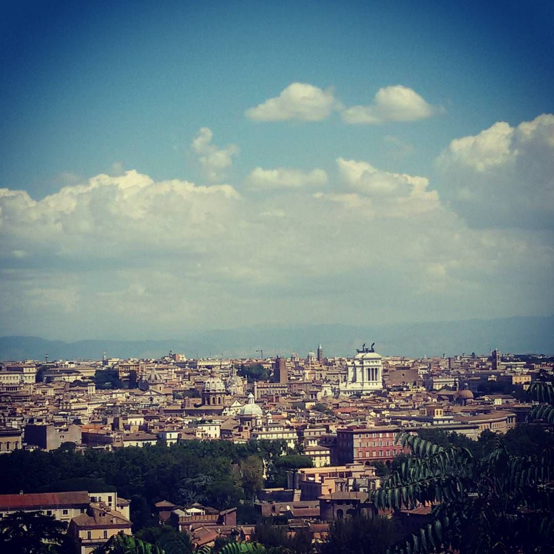 One of the best views of Rome. Janiculum hill www.tourguiderik.com
