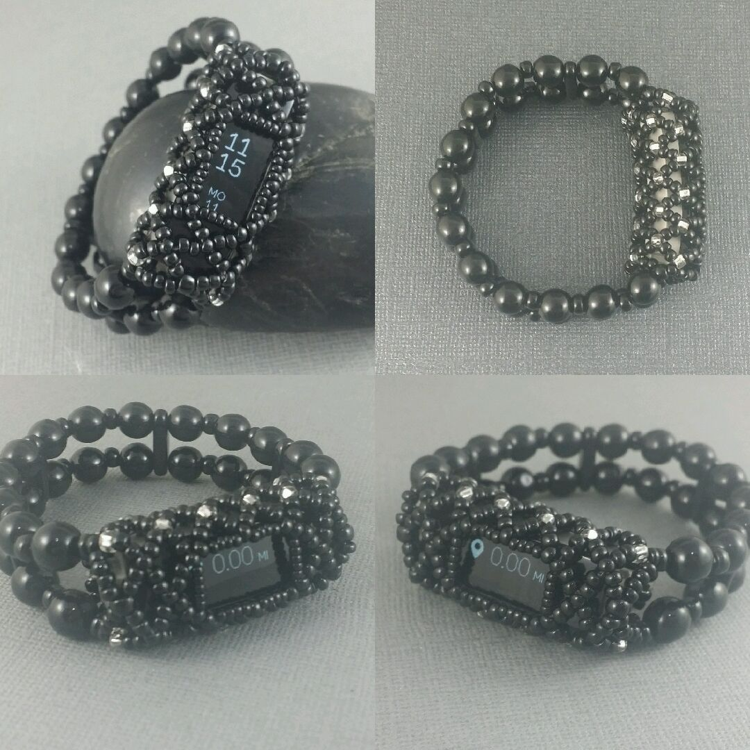 Bracelet for Fitbit Alta! Original design. Hypo-allergenic glass ...