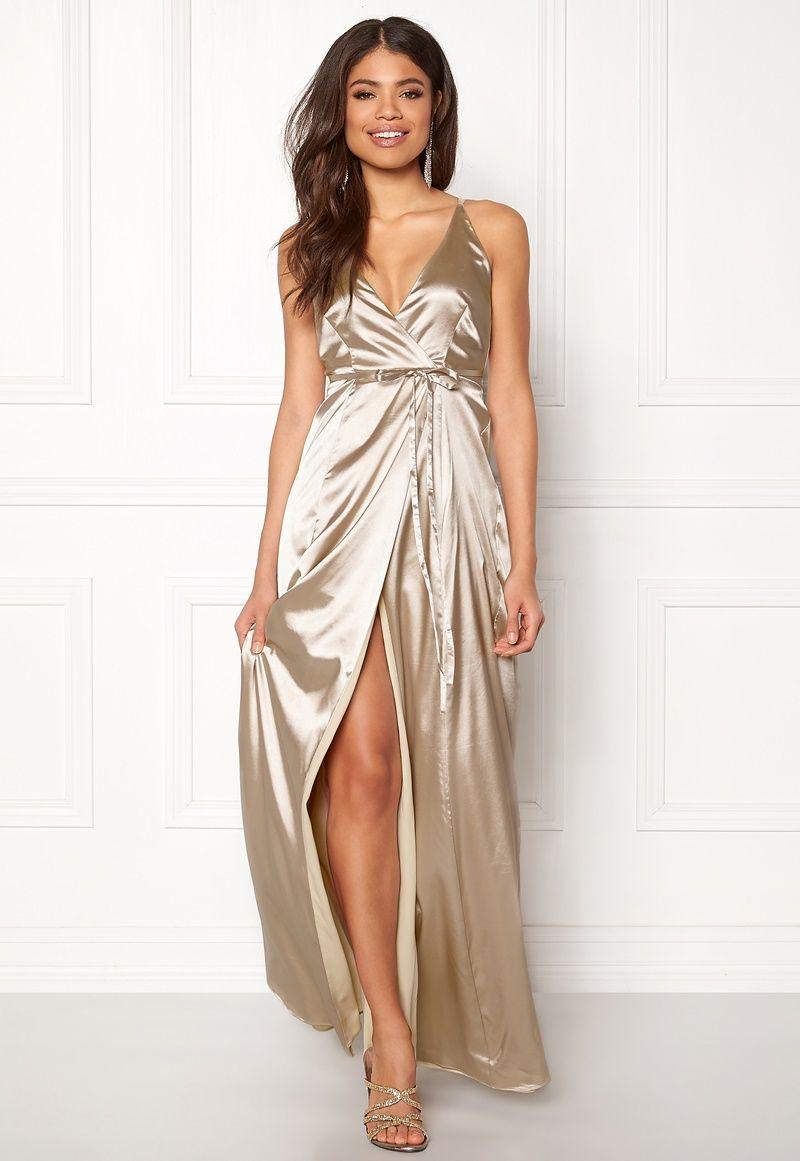 BUBBLEROOM Stella prom dress Champagne - Bubbleroom  248a949bb9dab