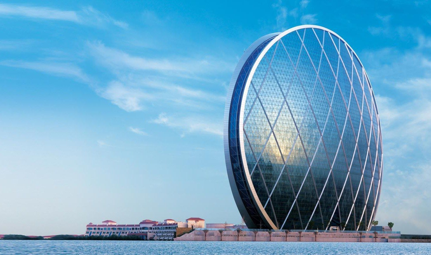 Aldar Headquarters in Abu Dhabi is a masterpiece constructed by ...