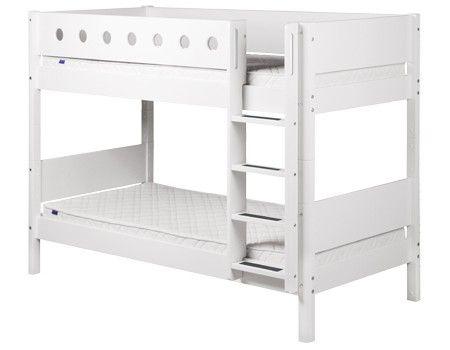 Etagenbett Niedrig : W etagenbett für erwachsene weiß cm nischenhöhe