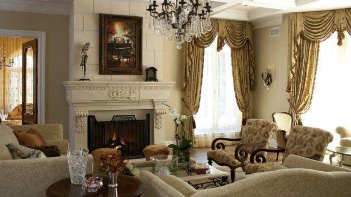 wohnzimmer einrichten ideen im klassischen einrichtungsstil helle - farbe fürs wohnzimmer
